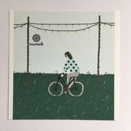 Mini-Illustration Karlsruher Fahrrad (limitiert).