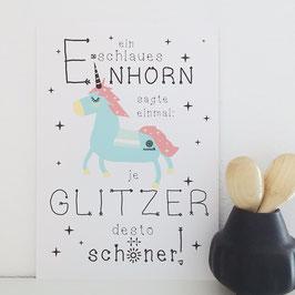 Einhorn.