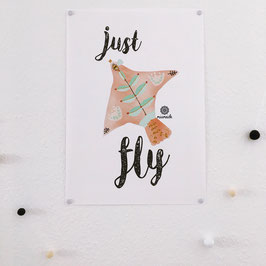 Just fly.