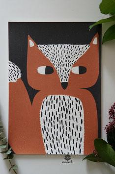 Schlauer Fuchs.