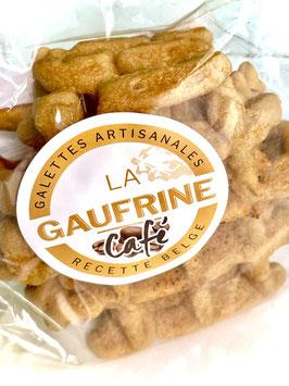 Galettes artisanales La Gaufrine (paquet individuel de 3 galettes café)