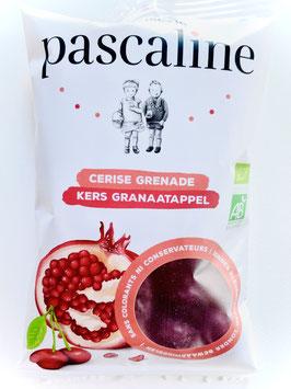 """Bonbon. bio  """"Pascaline"""" cerise-grenade (paquet individuel de 80 gr)"""