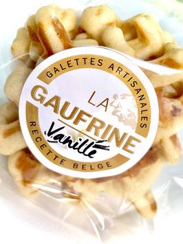Galettes artisanales La Gaufrine  (paquet individuel de 3 galettes vanille)