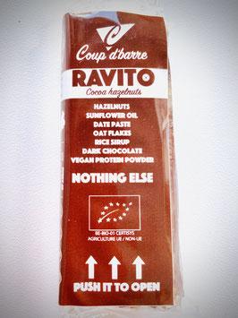 Coup d'barre Ravito  cocoa hazelnuts