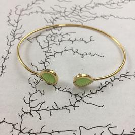 Bracelet Jonc Vert