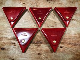 椿三角コインケース