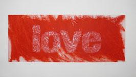 Love Rosso 140x80 cm