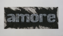 Amore Nero 140x80 cm