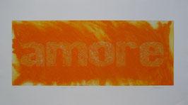 Amore Arancio 140x80 cm