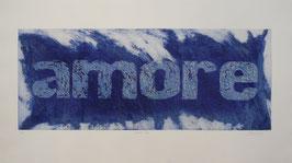 Amore Blu 140x80 cm
