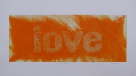 Love Arancio 140x80 cm