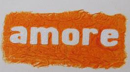 Amore Arancione 30x40 cm