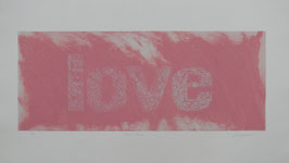 Love Rosa 140x80 cm