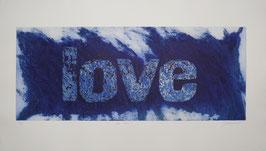 Love Blu 140x80 cm
