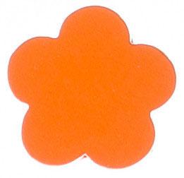 Motivperle, Blume orange