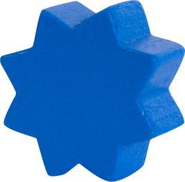 Motivperle, Stern dunkelblau ca. 2 cm