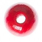 Holzperle, rot