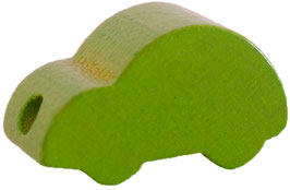 Motivperle, Auto hellgrün ca. 2,5 cm