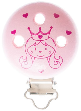 Clip, Prinzessin pink