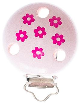 Clip, Blume pink
