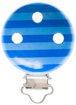Clip, Streifen blau