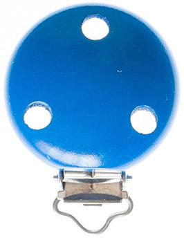 Clip, uni blau