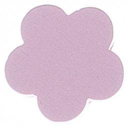 Motivperle, Blume rosa