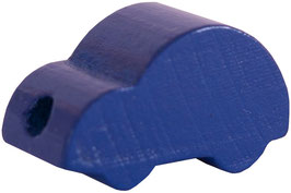 Motivperle, Auto dunkelblau ca. 2,5 cm