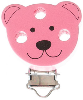 Clip, Figur Bär rosa