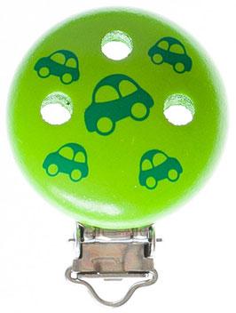 Clip, Auto (grün)