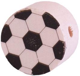 Motivperle, Fußball Scheibe 1,6 cm