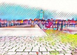 Steiger bij het pont , artwork