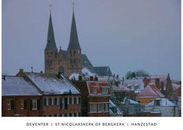 De Bergkerk in de winter