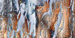 Eiszeit # 1 | Echtes Leinenbild