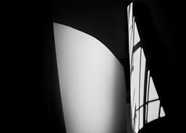 Lichtsegel | Echtes Leinenbild