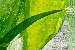 Fruchtcocktail / Echtes Leinenbild