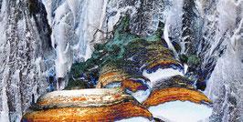 Eiszeit # 2 | Echtes Leinenbild