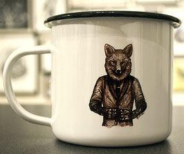 .Dapperfox Emaille-Becher.