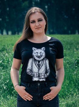 """.Frauen T-Shirt """"Dapperfox""""."""