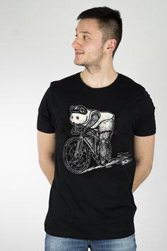 ".Männer & Unisex T-Shirt ""Fixie Panda""."