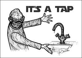 .It's a tap Postkarte.