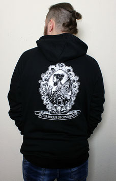 """.Unisex Hoodie """"Mirror of Confusion""""."""