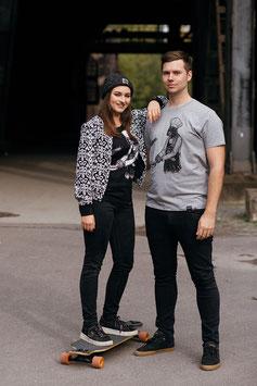 ".Männer & Unisex T-Shirt ""Darth Cook"" Grau."