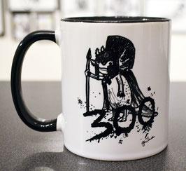 .Dreihundert Tasse.