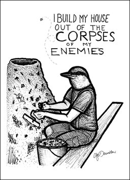 .Corpses of my enemies Poster.