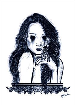 .Cursed Soul Postkarte.
