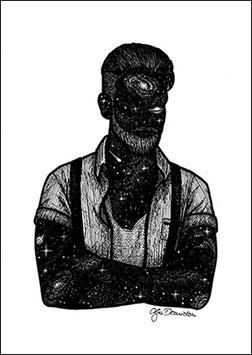 .Mr. Universe Poster.