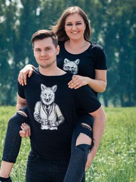 """.Männer & Unisex T-Shirt """"Dapperfox""""."""