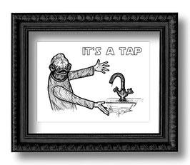 .It's a tap.