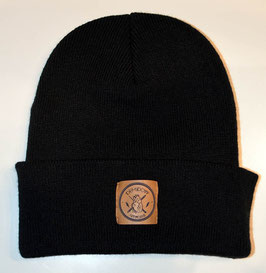 .Junior Beanie Black.